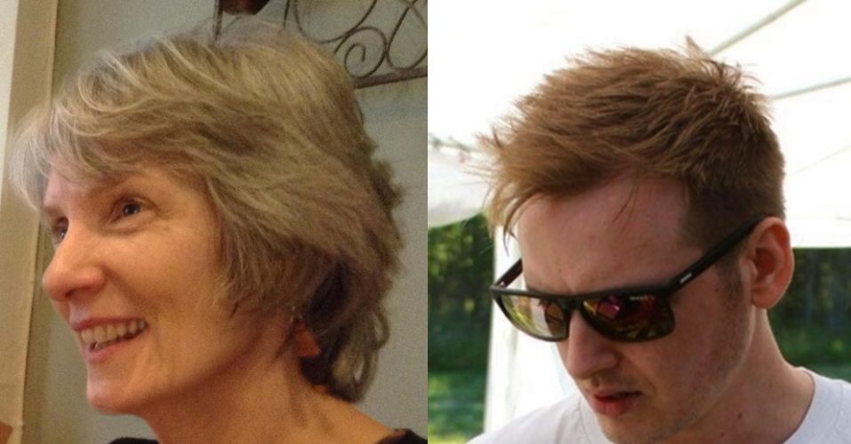 Image of Sue Marlow and Alex Ribchester next to each other.